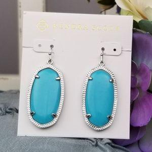 Elle, Kendra Scott, Turquoise Earrings